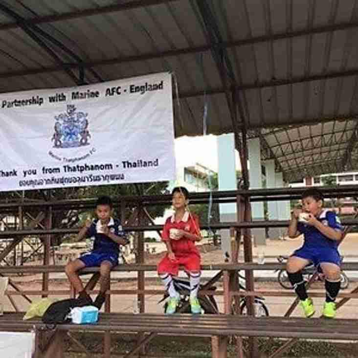 Away kit to fund faraway sister club