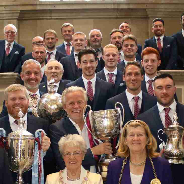 Quadruple winners earn civic seal
