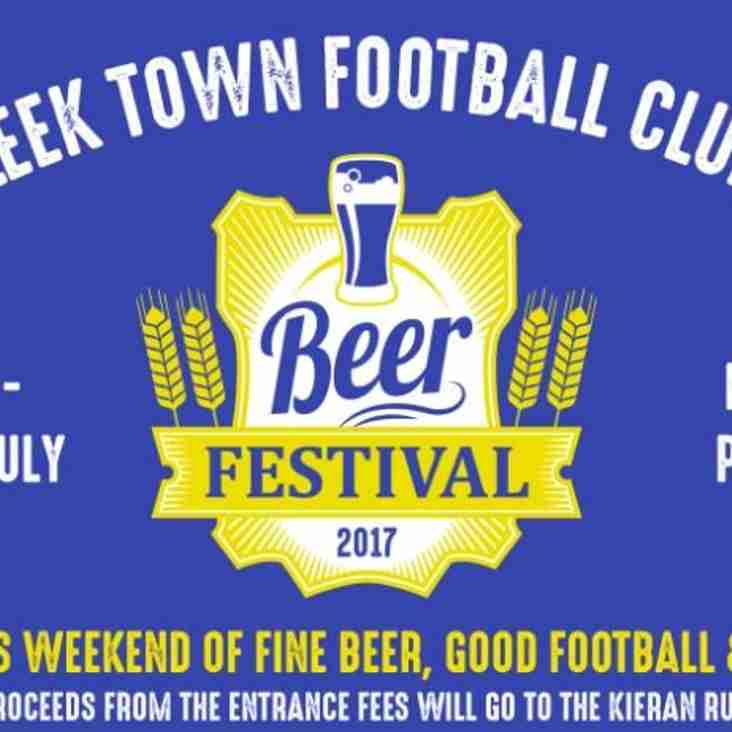 Beers on tap as tournament returns!