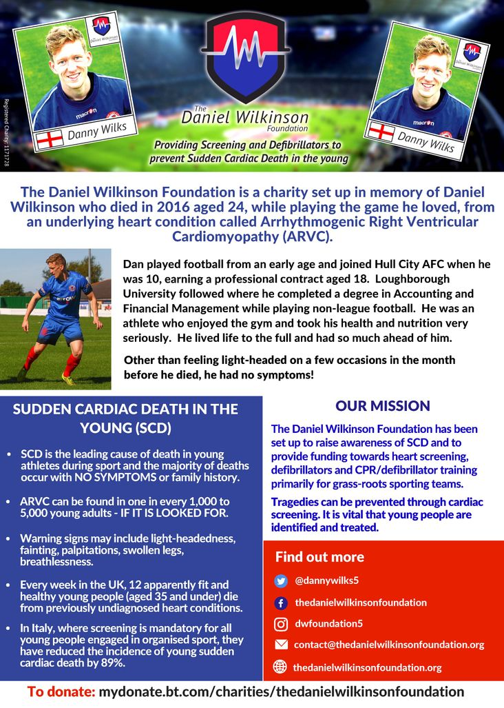 Mission: The latest poster advertising the foundation's aims