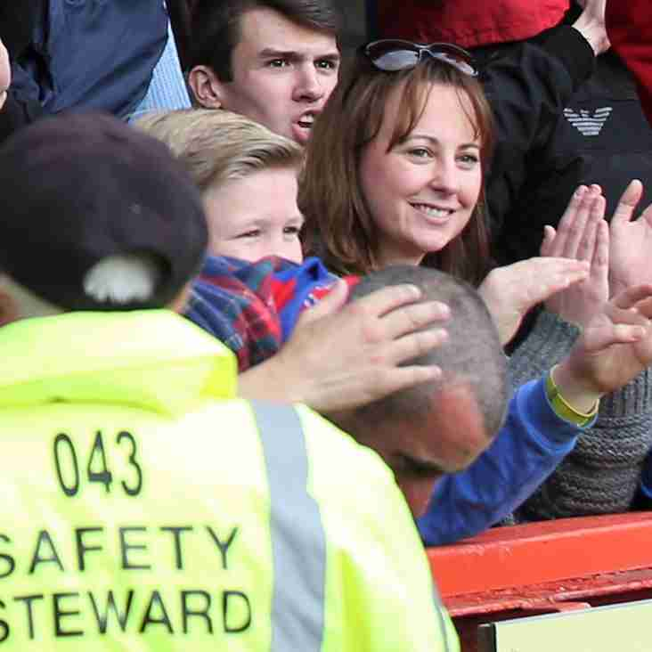 New  matchday stewards wanted