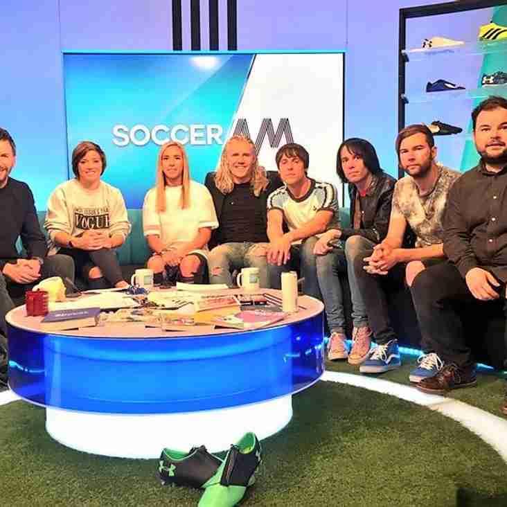 Digital mag earns Soccer AM slot!