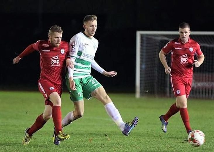 Winning start: James Jones in action for TNS
