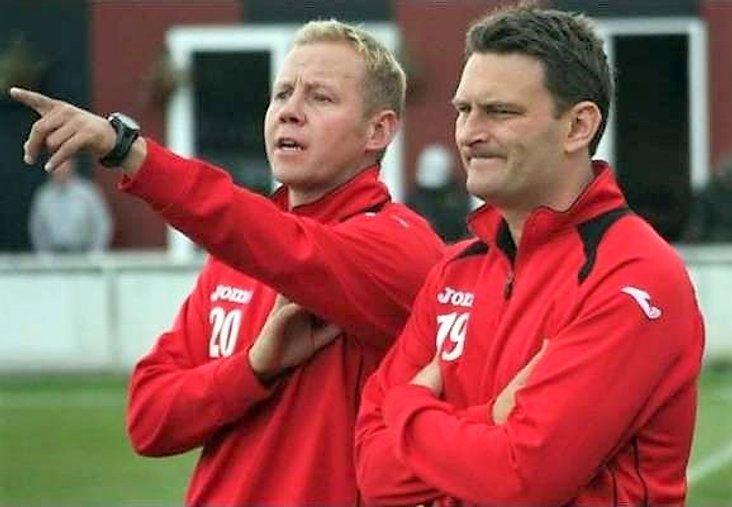 Dynamic duo: Glenn Kirkwood and Craig Hopkins