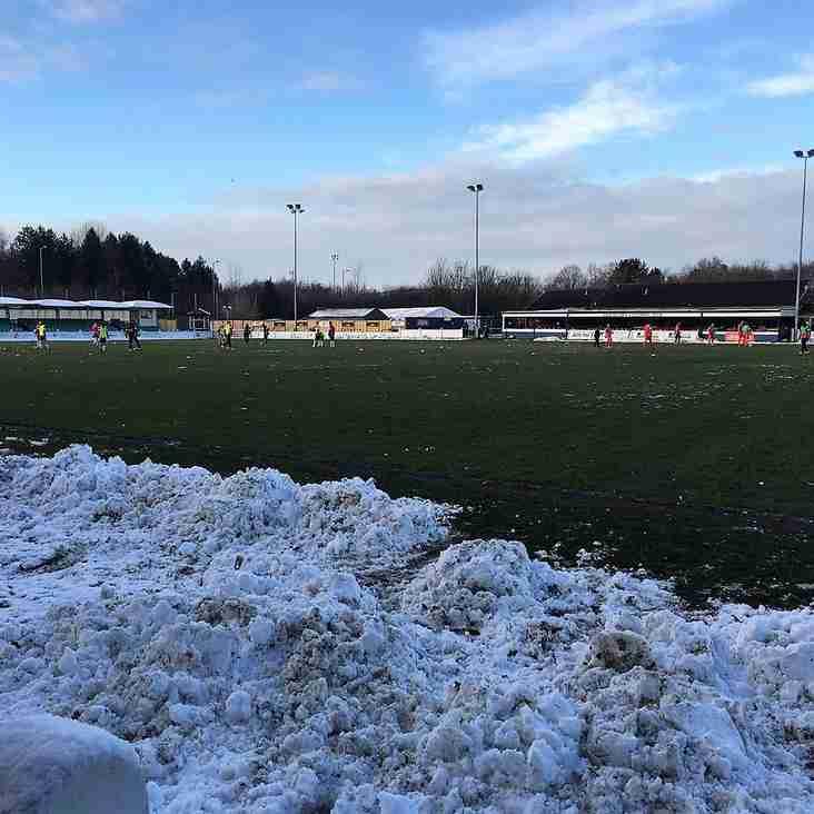 Snow grateful despite the result!