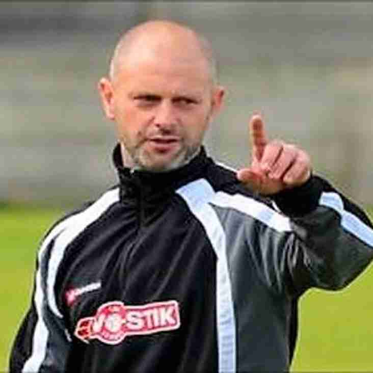 Stammers is new first team coach