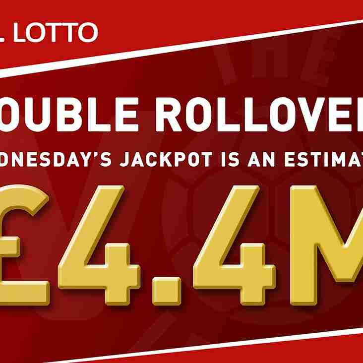 Double rollover jackpot hits £4.4m!