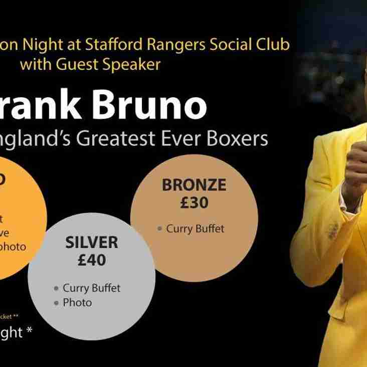Legend topping the bill for charity