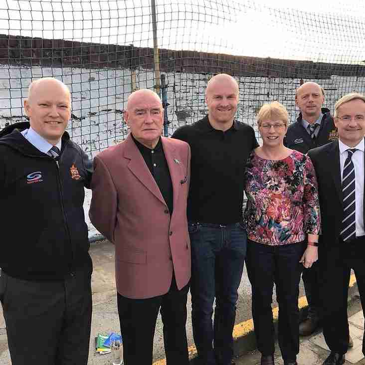 Clarets boss thanked for big boost