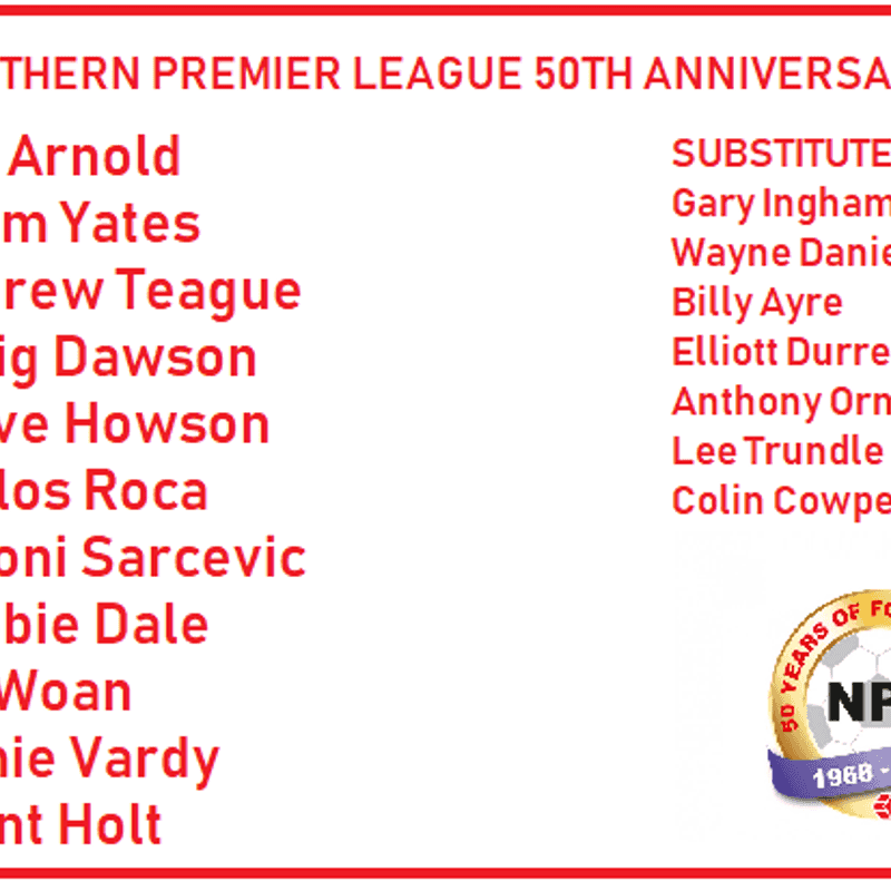 2018 Northern Premier League Player of the Year Awards