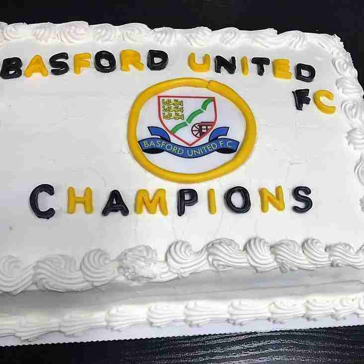 Champions enjoy their cake!