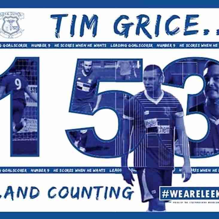 Grice celebrates number one status