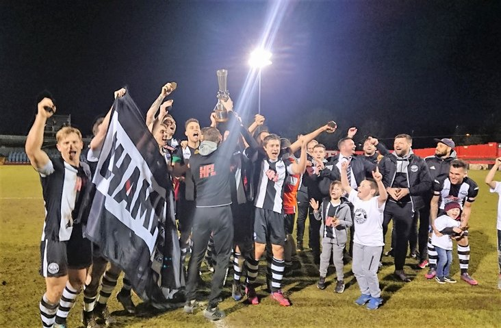Cup kings: 2018 winners Atherton Collieries