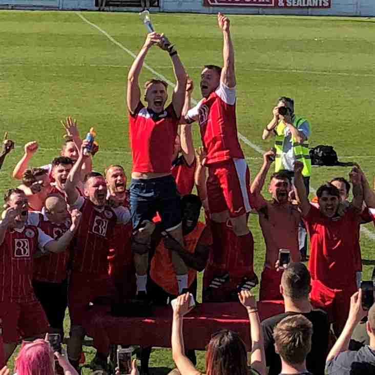 Premier Division play-off final action review