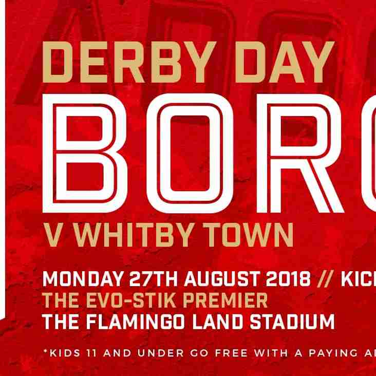 Big derby will be an all ticket affair