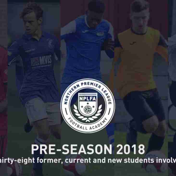 Students play key role in pre-season