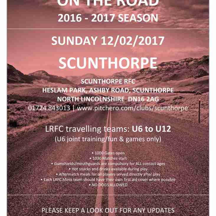 UPDATE: SUN 12/02 @ SCUNTHORPE