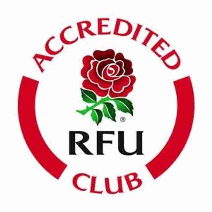 Hartlepool Rovers re-accredited by RFU.