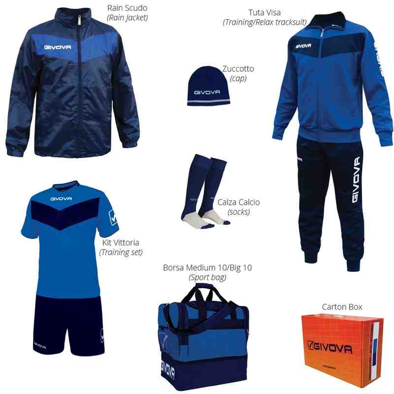 Club Training Kit (Givova Box Set)