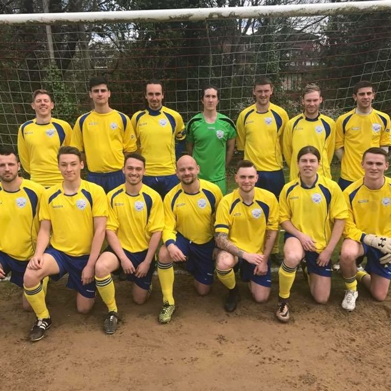 Southgate County 1st Team beat Old Woodhouseians 2 - 1