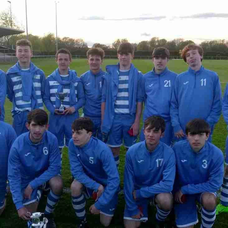 Maghull FC U16s County Cup Winners
