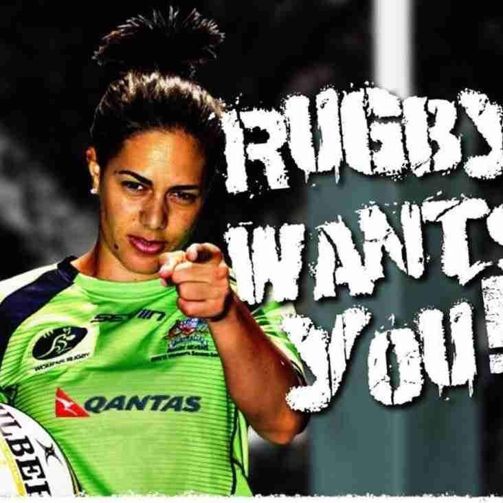 Female Rugby Turn up & TRY