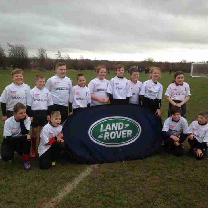 Under 11s at Falcons