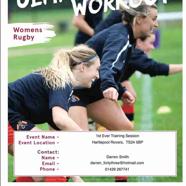 Women's Rugby Launch Event
