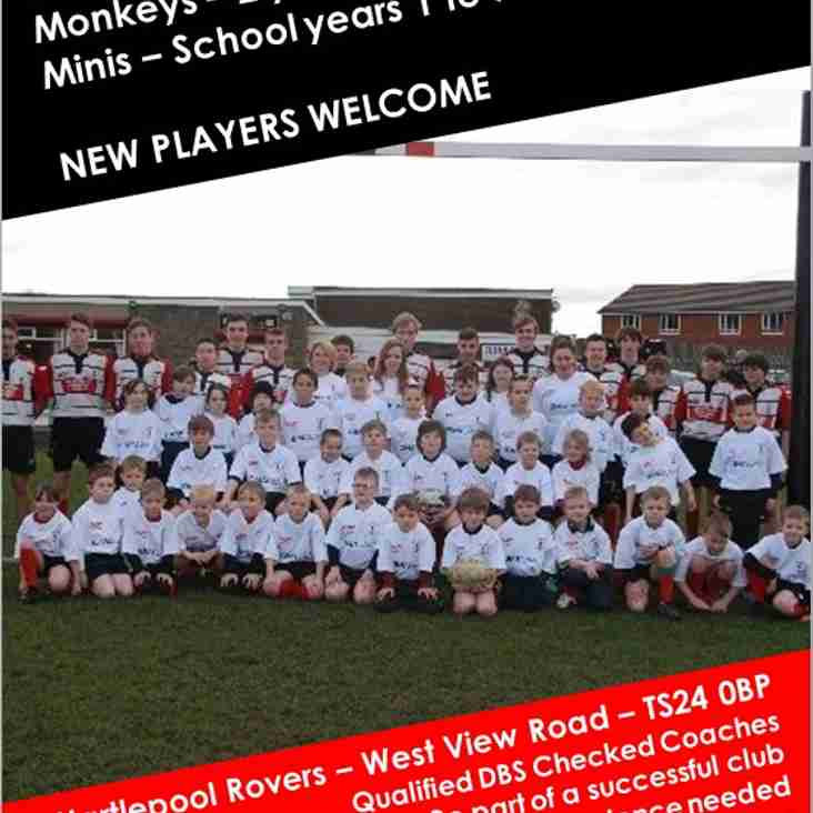 Minis and Juniors 2017/18