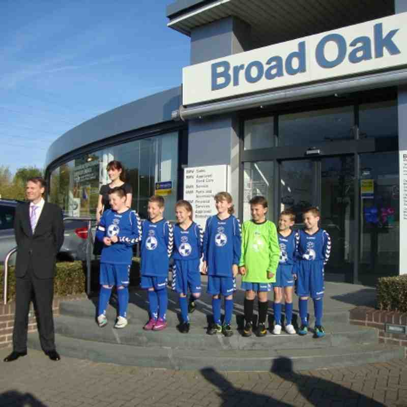 Team sponsor Broad Oak BMW Photoshoot