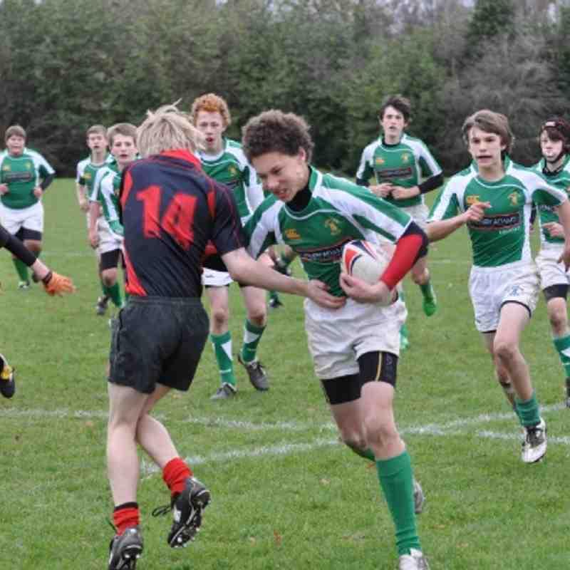 Horsham U'14s V Haywards Heath 04.12.11