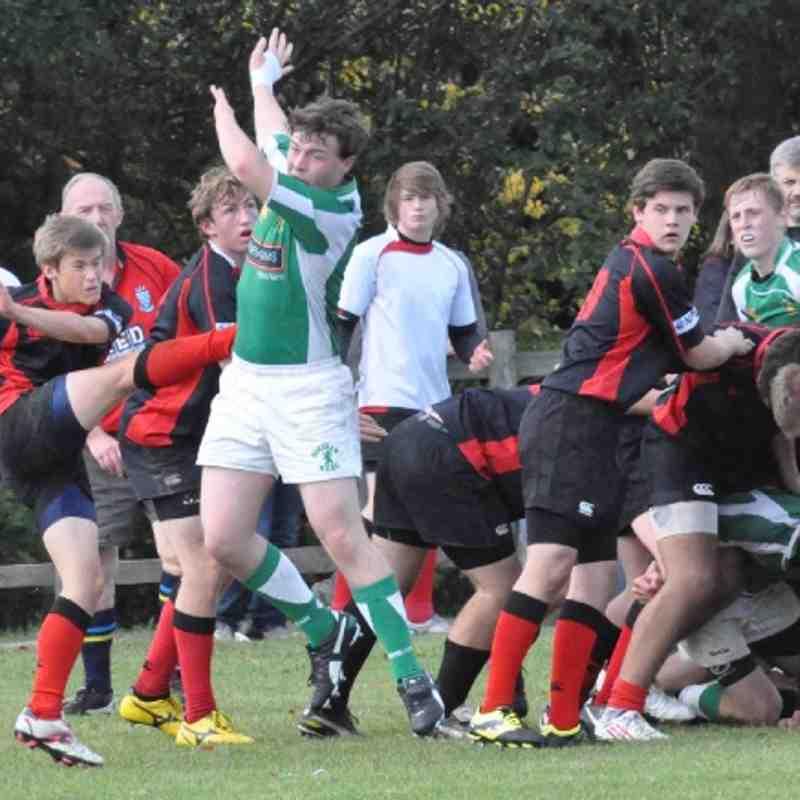 Horsham U16 v Haywards Heath 07.10.12