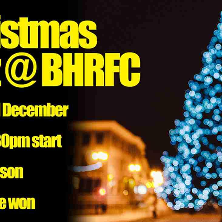 Christmas Quiz at BHRFC