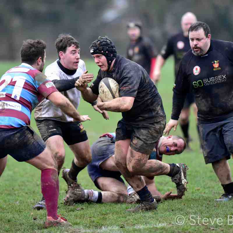 BHRFC 3 v Hove 3   07.01.17