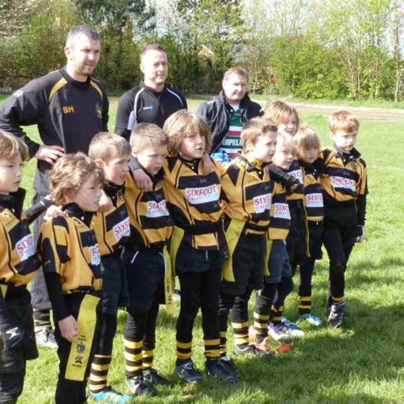 County Cup 2012 - under 7's