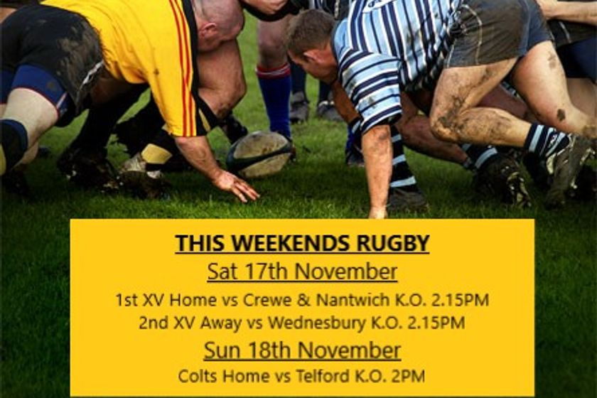 This weekends rugby