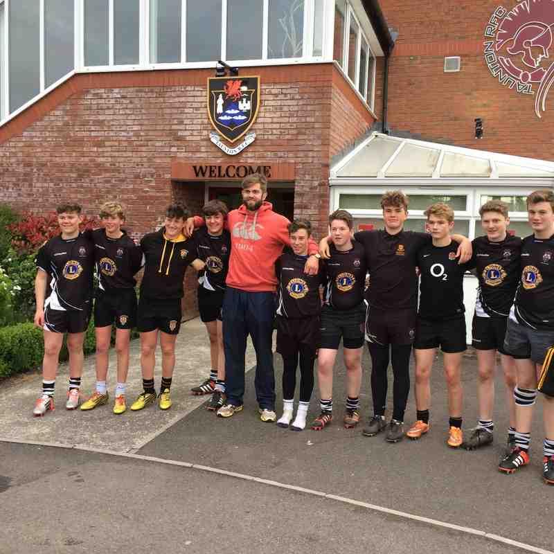 U15's & Geoff Parling