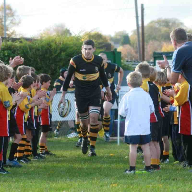 WRFC U7s - 1st XV Curtain Raiser 29 October 2011