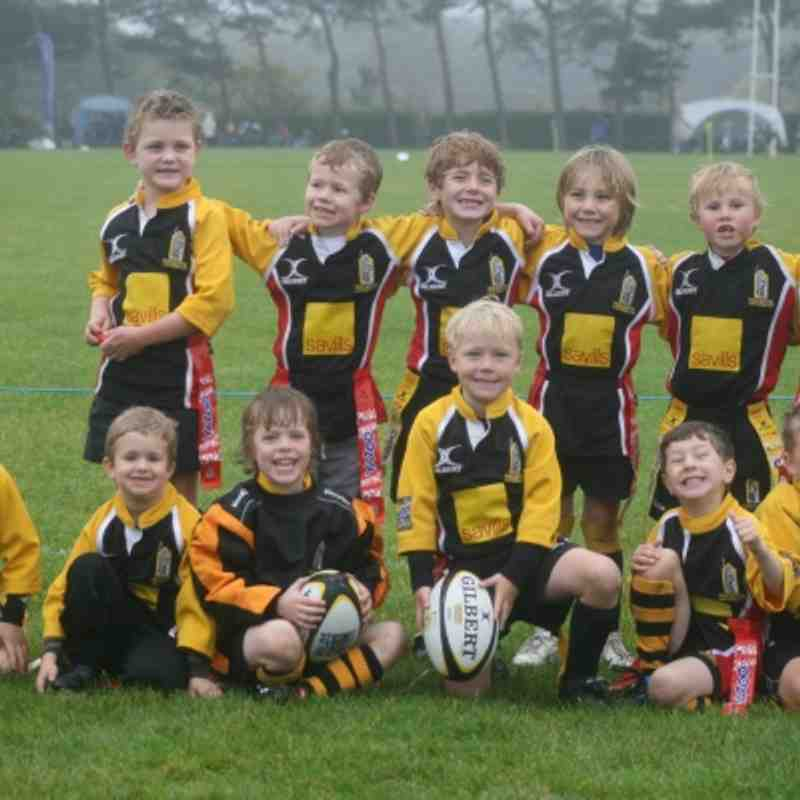 WRFC U7s - New Milton Shaping the Game Tournament - 30 October 2011