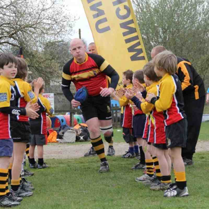 WRFC U7s 1st XV Curtain Raiser 31/03/2012