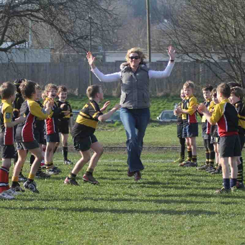 WRFC U9s Curtain Raiser 080314