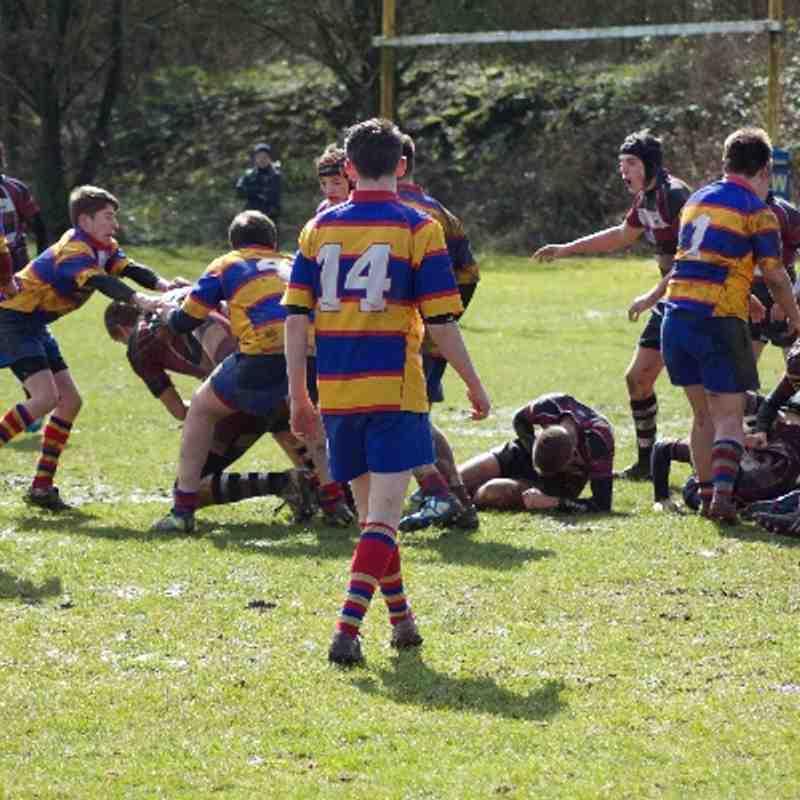 U15's vs Tamworth 23/03/14