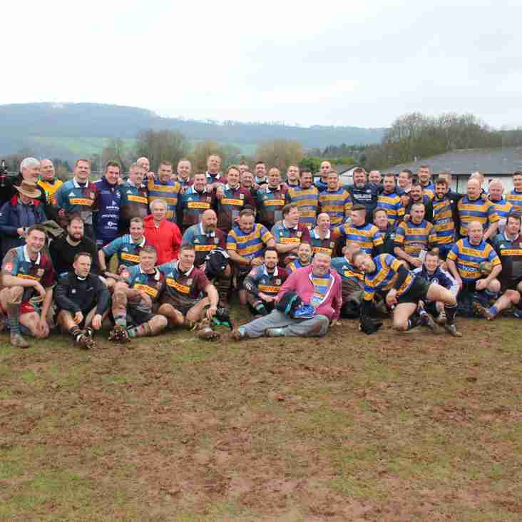 Will Copley Monmouth RFC memorial game 11 February