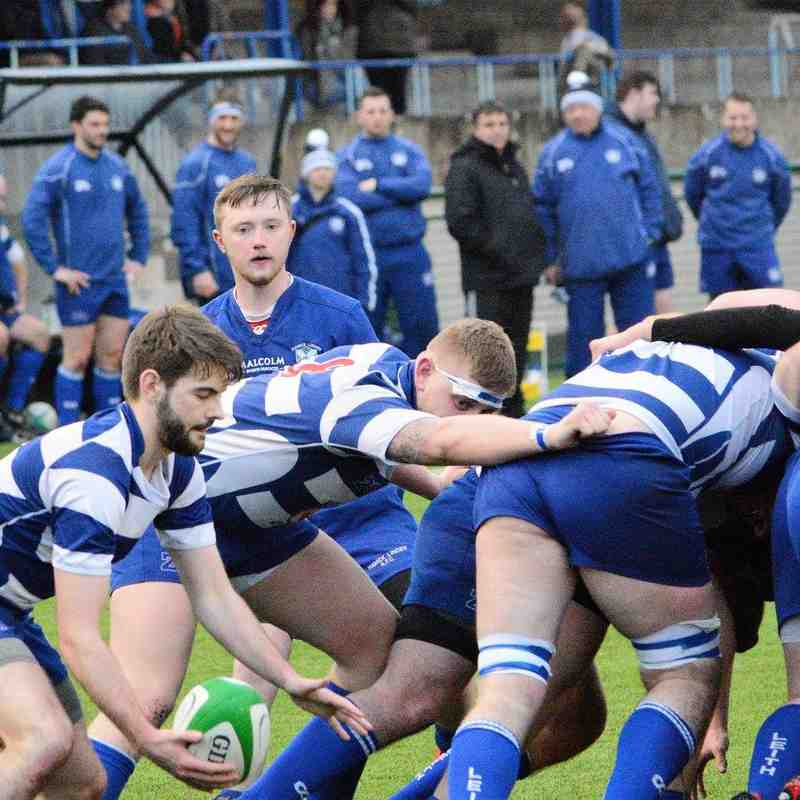 Hawick Linden 53 - 5 Leith, 18/02/16