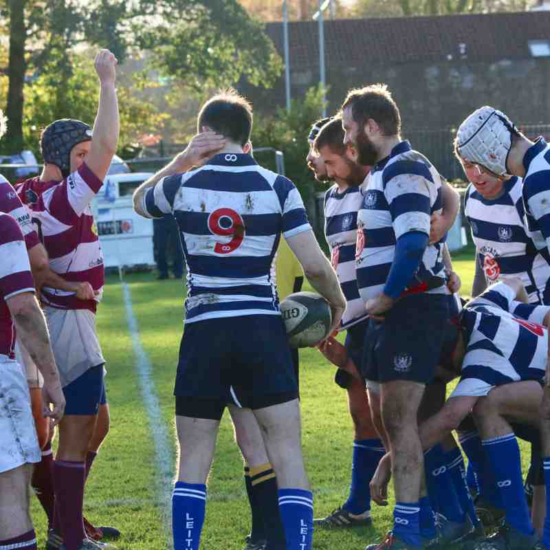 Leith 2s v Watsonians 4s, Saturday November 4, 2017