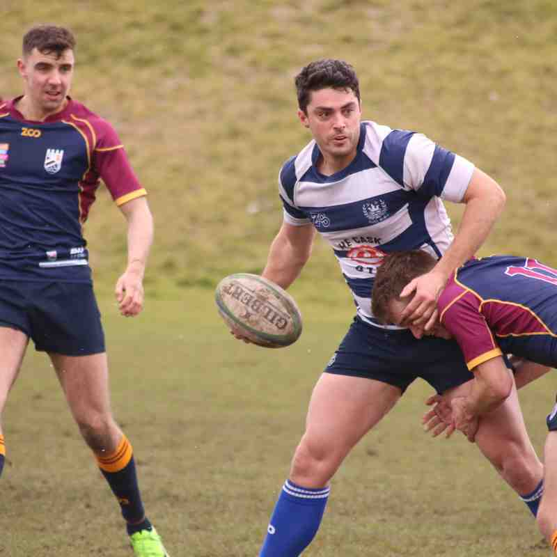 Leith XV v Queensferry, Saturday 17th March