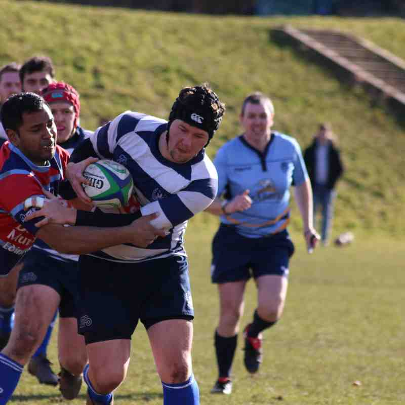 Leith 2nd XV vs Liberton 1st XV, Saturday March 24, 2018