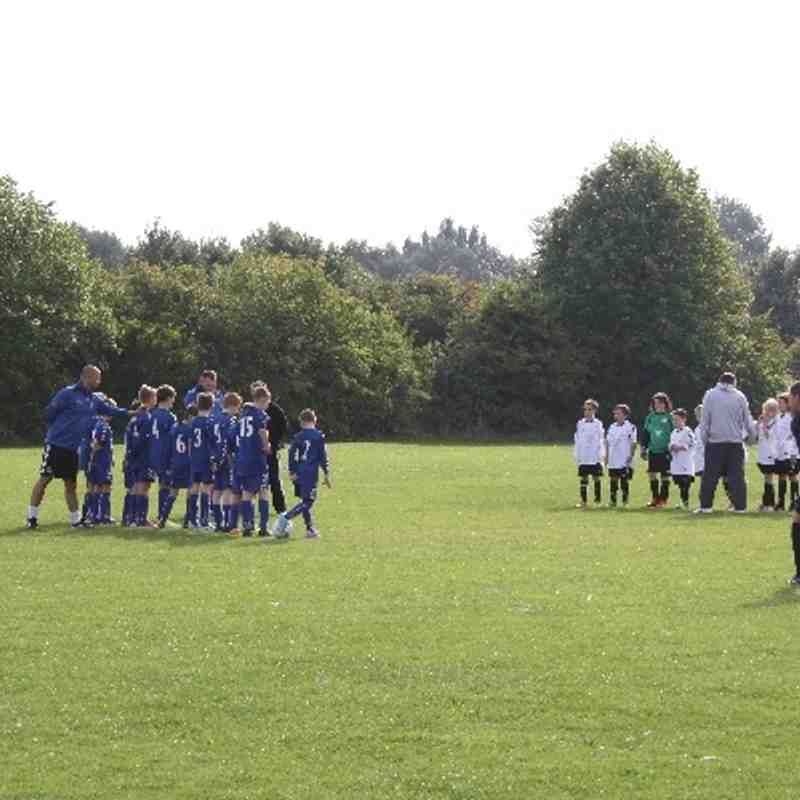 U11 Colts vs. Herne Bay Harriers 29/09/13
