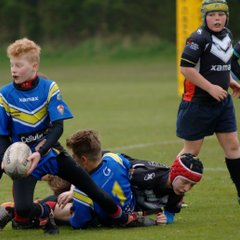 catterick crusaders u12's  vs Gateshead storm u12's