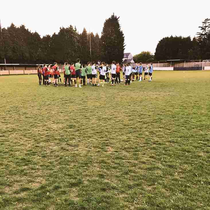 U18's Ryman Trials a Success